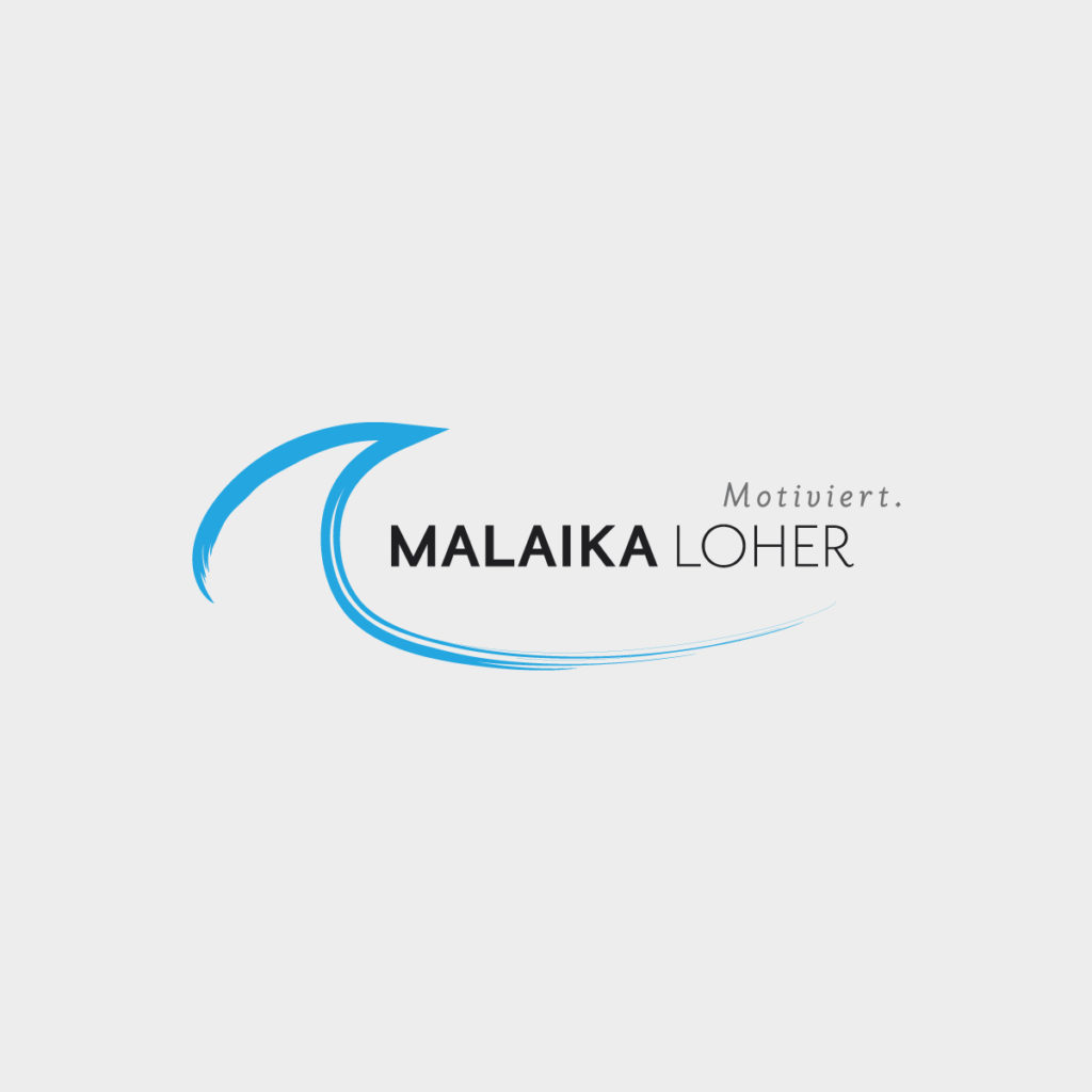 Logodesign Malaika Loher Motivationstrainerin